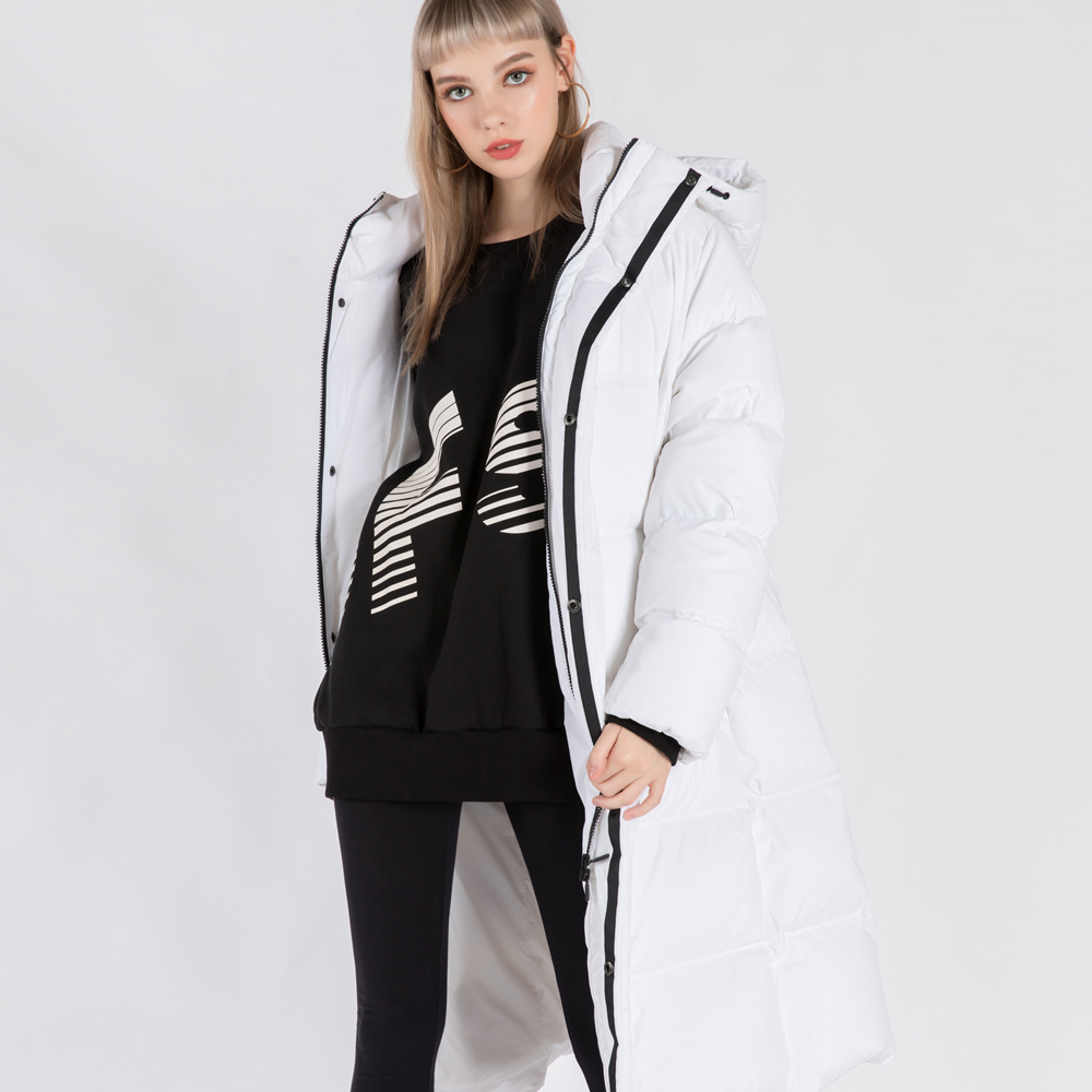 RDS BANFF BENCH PARKA (SAW3DJ01) (WHITE)